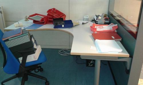 scrivania a L 160 x 160