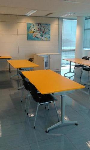 scrivanie 160 x 80 piano arancione